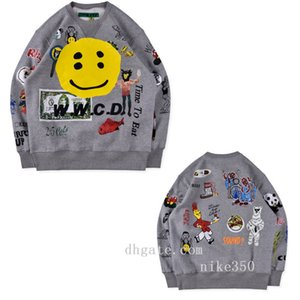 20ss Kanye Männer Pullover lässige Jacke Art und Weise religiöser Druck der Qualitätsmann und Hip-Hop-Jacke der Frauen