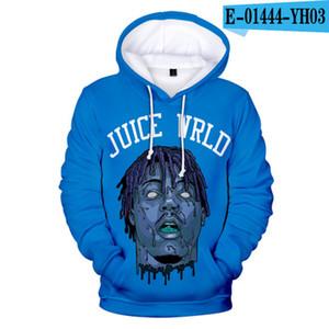 Mode Hip Hop Pullover mit Kapuze beiläufige Mens Designer Hoodie mit Saft Wrld Druck-Qualitäts-Sweatshirts asiatische Größe 2XS-4XL
