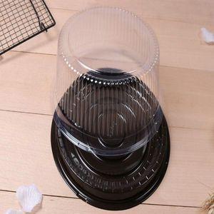 Wholesale Big Round Cake Box 8 Inches Cheese Box Clear Plastic Cake Container Big Cake Holder Receita Original De Cupcake Receita bde2010 uA