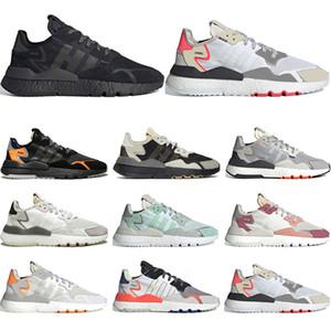 adidas Nite jogger Reflex Schuhe für Männer Frauen hochwertige Triple-schwarz weiß atmungs Trainer Sport Turnschuhe Größe der laufenden 36-45