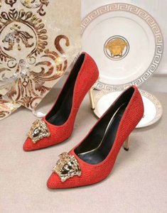 2020 new fashion women sandals Design sandals Design heels Mesh fabric Leather material Original box size 35-42