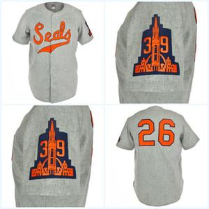 San Francisco Seals 1938 route Jersey Tout joueur ou le numéro de point Sewn Tous Cousu de haute qualité Livraison gratuite Baseball Maillots