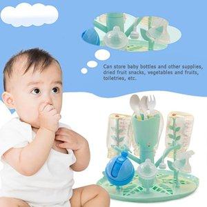 Rack-2019 Baby-Milchflasche Trocknen Nippel Regal Pacifier Becherhalter Infant Feeding Bottle Pacifier Wschetrockner für Cup