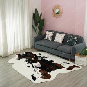 2020 grande tappeto Imitazione di animali Pelle di tappeti antiscivolo mucca Zebra Area tappeti e moquette Per la casa Soggiorno