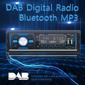 Bluetooth Car Stereo Radio Receiver With Remote Control Single Din Digital Media Receiver Support FM / AM/RDS/DAB / DAB + / MP3