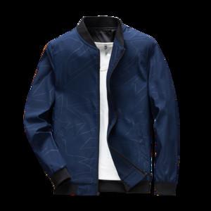 TFETTERS Yeni Varış Bahar Sonbahar Erkekler Ceket Katı Moda Mont Erkek Rahat Ince Standı Yaka Baskı Bombacı Ceket Erkekler Palto