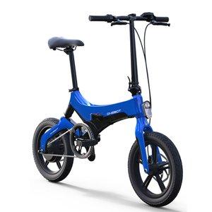 16inch bicicleta eléctrica 36V250W motor de mini ebike pliegue de la ciudad ultra-luz de la batería de litio impulso LCD de la bicicleta inteligente