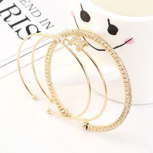 FXM Mode Ins Stil Popular Einzel Kreis 3Pcs / Set BraceletBangles für Frauen Geschenke Accessoires