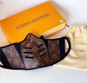 Neue Ankunfts-Liebhaber halbe Gesichts-Mundschutz-Maske Designer Trend Abdeckungs-Leder-Damen-Handtasche Mode Damen und Herren Rucksack Masken No box