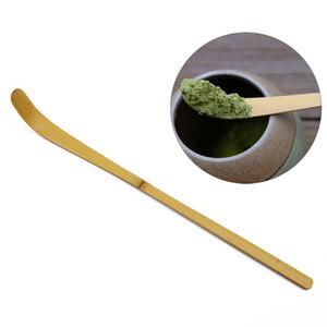 Bamboo Matcha Spoon ecologico Cerimonia del tè di bambù Paletta creativo Matcha Caffè Tè Cucchiaio Tè Matcha Accessori Cucchiaio BH3225 TQQ