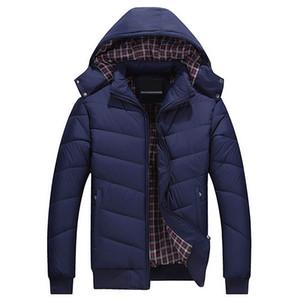 Luxuxentwurf Herren Jacke Marke Parkas Winter Outdoor Luxusdaunenjacken Langarm Warming Brief Around Hut Kühle Design-Jacke