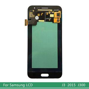 OEM-AMOLED-LCD für Samsung Galaxy J3 2015 J300 LCD Display J300F J300H Touch Screen Getestet Digitizer Assembly