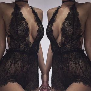 Sexy-Damen Dessous Dessous Nachtwäsche Unterwäsche G-String Babydoll Nachtwäsche Kleid