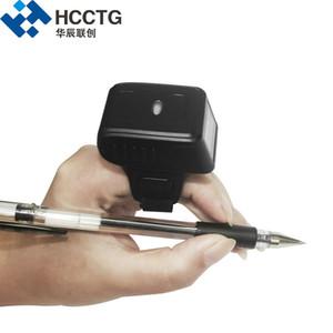 لاسلكية صغيرة رمز الاستجابة السريعة لبس البنصر بلوتوث نمط 2D الباركود مع CMOS فيديو HS-S03