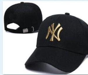 Top Quality Barato Snapback New York Cap Logotipo NY osso clássico Boné de Beisebol Bordado Tamanho Da Equipe Fãs FlatCurved Brim para adulto chapéu cap 05