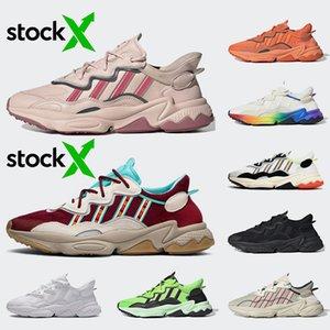adidas Ozweego Moda yeni Ozweego ayakkabı Pembe İz Maroon Neon Yeşili Gurur Kalın Turuncu Bulut Beyazı Mens eğitmenleri spor ayakkabı çalışan kadınları mens