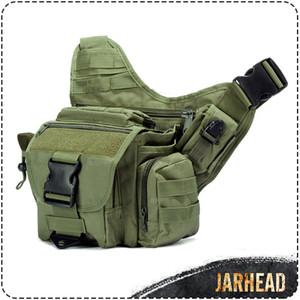 Army Tactical Messenger Camera Bag Men Outdoor Cycling Climbing Saddle Bag Male Tactical Camouflage Durable Single Shoulder Bag