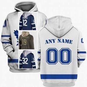 Cheap Mens Toronto Auston Matthews Hoodie 34 John Tavares 91 Mitchell Marner 16 Frederik Andersen 31 Morgan Rielly 44 S-3XL