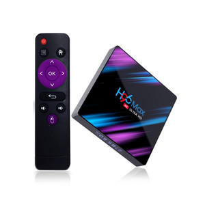 H96 MAX Android 10 Smart TV BOX 4GB+32GB Bluetooth 4K Quad Core WiFi Google Play Home Audio Media Player