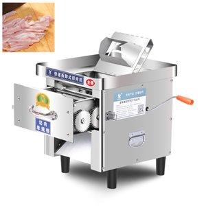 Eléctrica cortador de carne de escritorio comercial carne máquina de cortar cortador de carne automático de acero inoxidable cortador de verduras 850W 220V