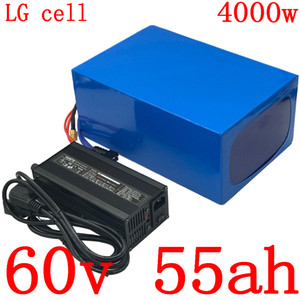 60В батареи 55Ah электрический велосипед использование лития LG сота для 2000w 3000w 4000w Мотороллер