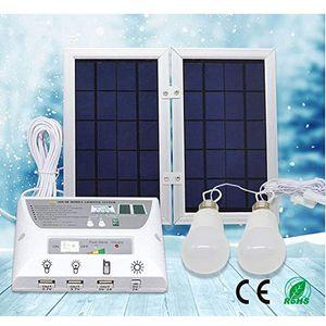 Solarstromanlage Notfall Solar Charging Handy-Kit-Energien-Bank für Indoor Outdoor-Aktivitäten Handy Notfall Camps Picnics H