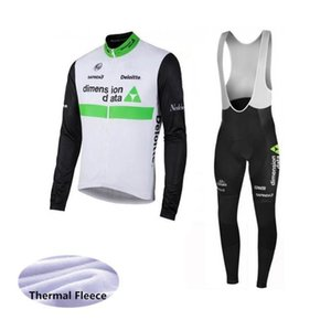 2020 Dimension Data Giant Cycling Team VELLO TERMICO Jersey (BIB) pantaloni Imposta rapido respirabile -Dry Uomini Riding Bicycle Clothesk01