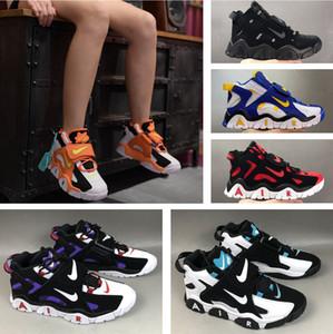 Alta qualidade Air Barrage Mid Uptempo QS tênis de basquete Scottie Pippen Air 2.0 homens sapatos casuais fashiong caminhando botas clássicas tênis