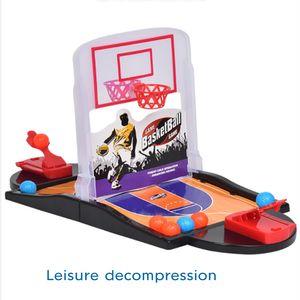 Barretta del doppio di espulsione Desktop basket genitore-figlio ripresa Interactive gioco della palla Spara Piattaforma di lancio interesse Toy Battaglia
