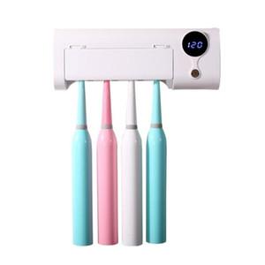 Adoolla Inicio ultravioleta del esterilizador del cepillo de dientes eléctrico de almacenamiento en rack para el hogar esterilizadores UV