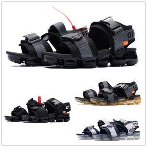 I più venduti Vapors da uomo Nero bianco donna unisex infradito in sughero pantofole moda sport estivi sandali casuali euro 36-45