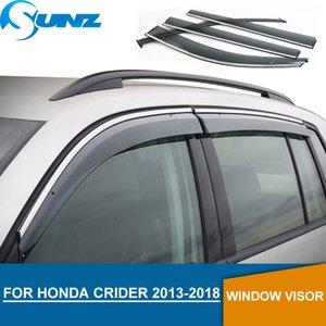 Pare-brise pour Honda CRIDER 2013-2018 Déflecteurs de glaces de vitre latérales pour pare-pluie pour Honda CRIDER 2013 2014 2015 2017 2017 2018 SUNZ