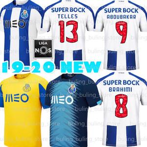 19 20 Porto maglie fc di calcio 13 ALEX TELLES 3 PEPE NAKAJIMA Aboubakar AUGUSTO 2020 uomini Futebol Clube do Porto Casa maglie da calcio