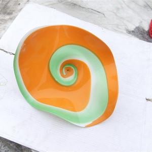 صفيحة الحائط الزجاجية الموروسيليكية المصنوعة من زجاج مورانو طراز Chihuly Led Art Lightings