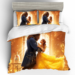 3D Printing Bedding Sets Bedding Set Duvet Cover Bed Sheets Pillowcases Bed Linen Home Textile King Size