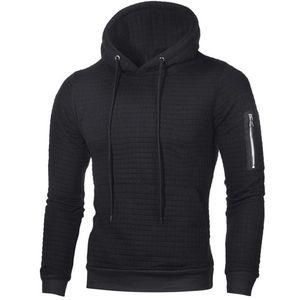 2018 neue Hoodies Männer mit Kapuze Langarm Sweatshirts Solid Color Hoodies Fleeces Sportswear Jersey Sweatshirt Herbst Kleidung