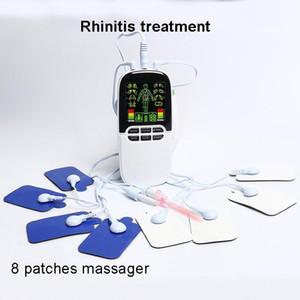 반도체 레이저 비염 치료 휴대용 코 알레르기 치료 장비 비염 부비동염 의료 TENS 요법 용 장치