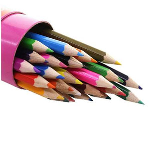 Öğrenci Kırtasiye 24 Renkler Renkli Kalem 1 Kutu Ilköğretim Ve Ortaokul Öğrencileri Için 24 adet Resimleri Hediye Kalem