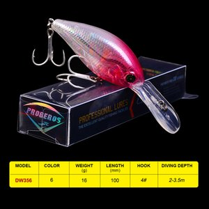 "Lures New Arrival Comdaba 1pc 16g-0.56oz 6 color Crank Baits 10cm-3.94"" Lures Fishing Tackle 6# Hook Fishing Bait Lure"