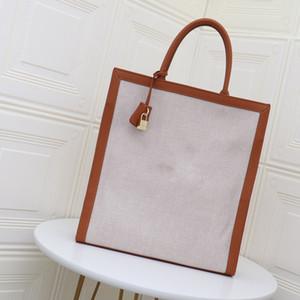 핸드백 지갑 여성 걸쇠 캐주얼 토트 백 여성 벨트 정품 가죽 무료 배송 편지 핸들 큰 쇼핑 가방
