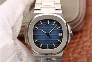DE luxe hassas çelik kordonlu saat Cal.324 hareketi saatler hareketi su geçirmez tasarımcı saatler saatler montre PF 5711