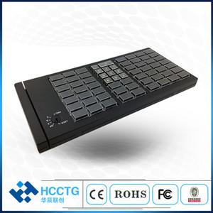 Kb66 yüksek kalite 66 tuşları USB tamamen programlanabilir klavye ile manyetik kart okuyucu parça 1 2 3