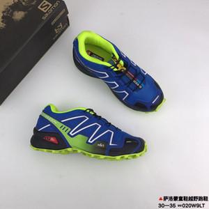 Salomon Speed Cross speedcross 3 Crianças marca running shoes zapatos hombre cruz velocidade 3cs iii esporte sapato crianças criança ao ar livre athletic speedcross solomon sapatilhas