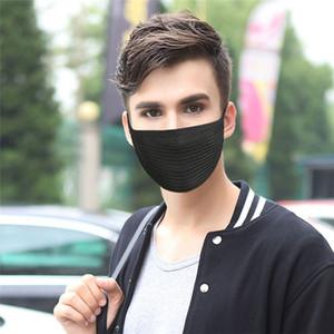 YENİ Unisex Siyah Pamuk Anti-toz Motosiklet Bisiklet Doğa Sporları Bisiklet Windproof Yüz Ağız Ücretsiz Kargo Isınma giyerek Maskesi