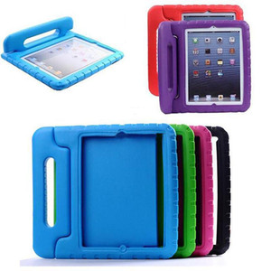 Portable Kids Safe Foam Shock Proof EVA Handle Cover Stand Case for iPad 10.2 mini 12345 2 3 4 Air 5 6 9.7 2017