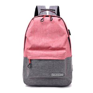 Дизайнер-2019 новый мужской женский рюкзак мода повседневная многофункциональная USB зарядка Мужчины Женщины ноутбук рюкзаки студент колледжа школьная сумка