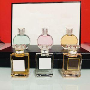 2020 Brand Eau Tendre Fraiche Vive Mademoiselle Eau de Parfum Spray 7.5ml 3 in 1 5 in 1 Kit Parfum Spedizione gratuita