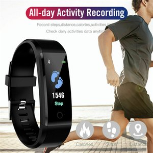 Wholesale New Smart Watch Men Women Heart Rate Monitor Blood Pressure Fitness Tracker Smartwatch Sport Watch for IOS Android