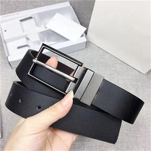 2 lüks düğmeleri erkek tasarımcı lüks kemer takım yüksek kalitede moda iş butik kemeriyle Butik lüks deri siyah kuşak