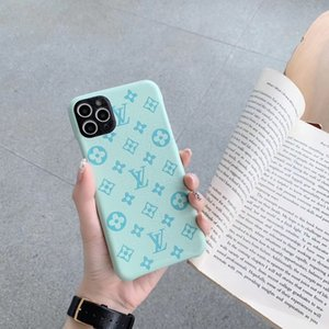 2020 new color embossed letter mobile phone case for iphone 11 11pro max X XS max XR 7 7plus 8 8plus hard back cover
